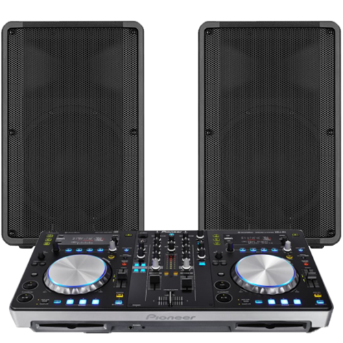 DJ Controller with Sound System Hire 1