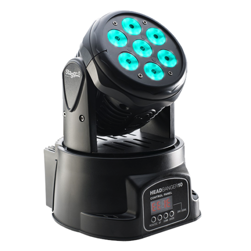 Moving Head Colour Wash LED Disco Light Hire 1