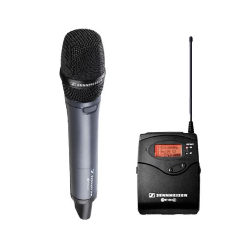Radio Handheld Microphone Hire 1