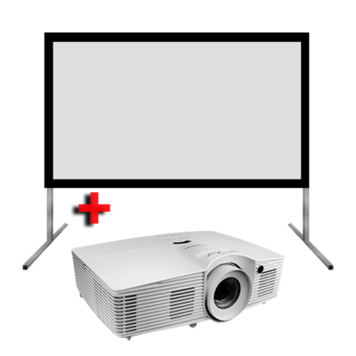 Portable Projector and Screen Hire 4
