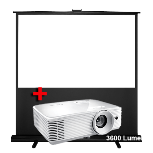 Portable Projector and Screen Hire 1