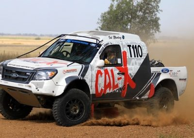 CAL-x Racing Car in action