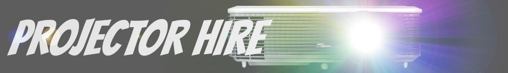Projector hire page banner