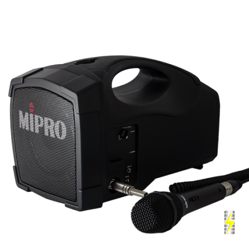 Personal PA System Hire | MIPRO MA-101c 1