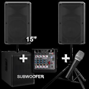 Hire a PA Sound System 5