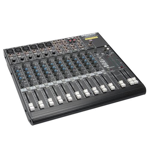 medium audio mixer Mackie 1402VLZ4 isometric view for hire