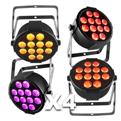 Moving Head Colour Wash LED Disco Light Hire 4