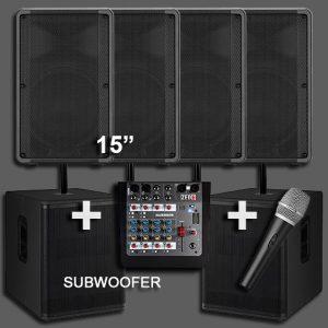 Hire a PA Sound System 6