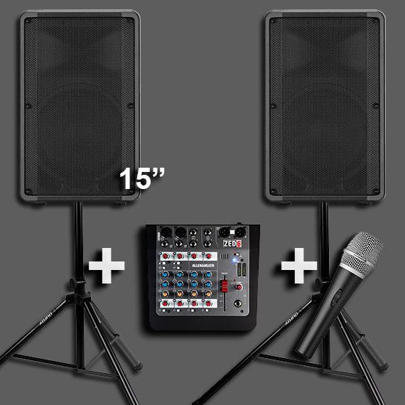 Hire a PA Sound System 4