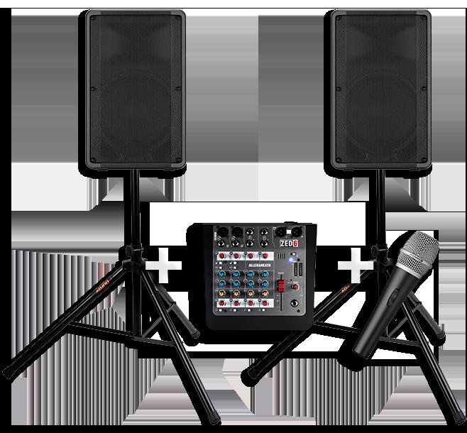 Hire a PA Sound System 1